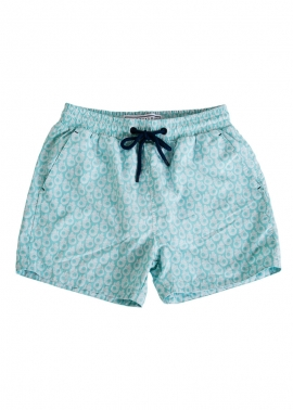 Balmoral Mermaid Aqua - Flat Front - The Rocks Push