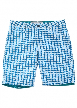 Blueys Batik Swim Shorts - Flat Front - The Rocks Push