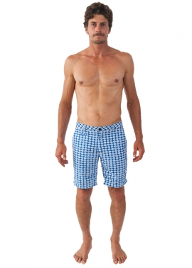 Blueys Batik Swim Shorts- Front - The Rocks Push