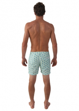 Shelly Lighthouse Swim Shorts- Back - The Rocks Push