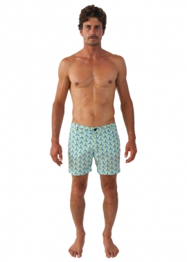 Shelly Lighthouse Swim Shorts- Front - The Rocks Push