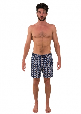 Tama Mermaids Mens Swimwear - Front - The Rocks Push