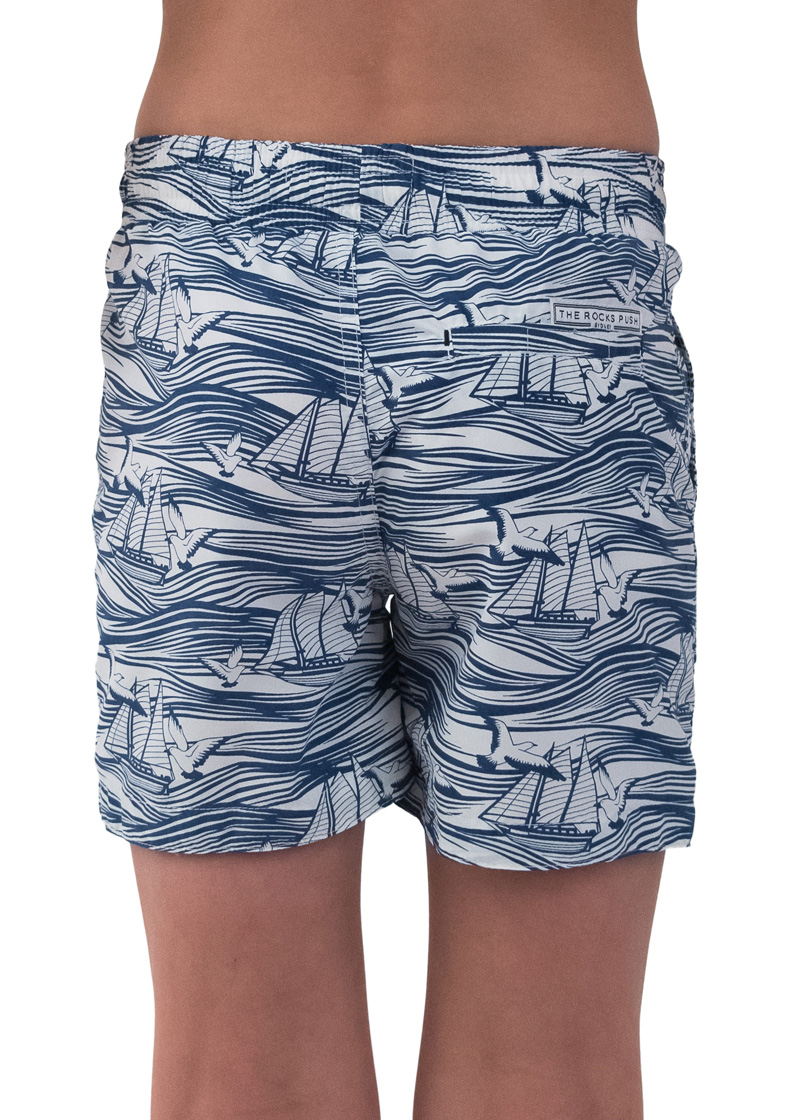 Boats Waves Balmoral Boys Boardshorts Australia The Rocks Push # Modele Banc En Bois