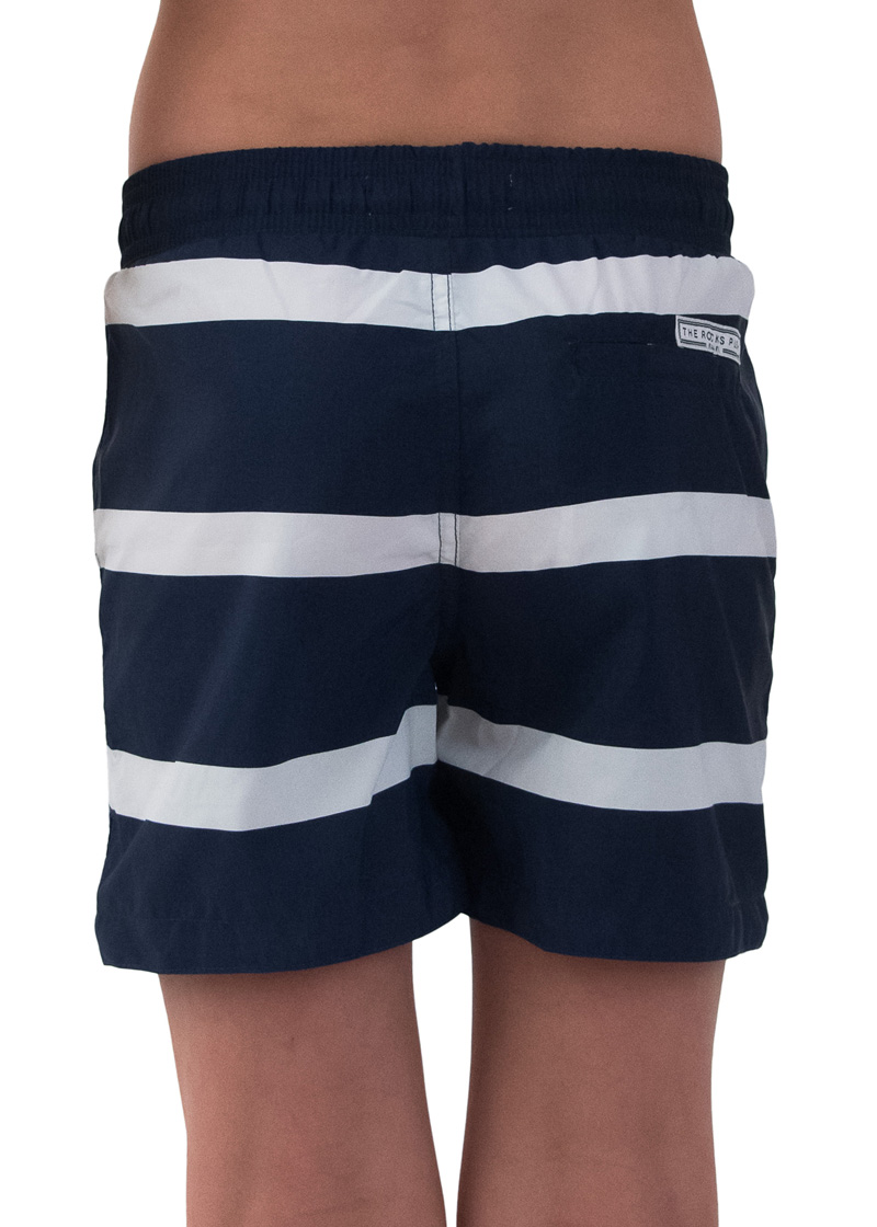 Breton Balmoral Designer Boys Board Shorts The Rocks Push # Modele Banc En Bois