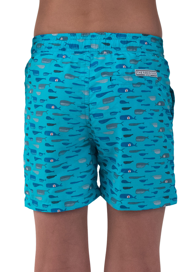 The Whale Balmoral Designer Boys Boardshorts The Rocks Push # Modele Banc En Bois