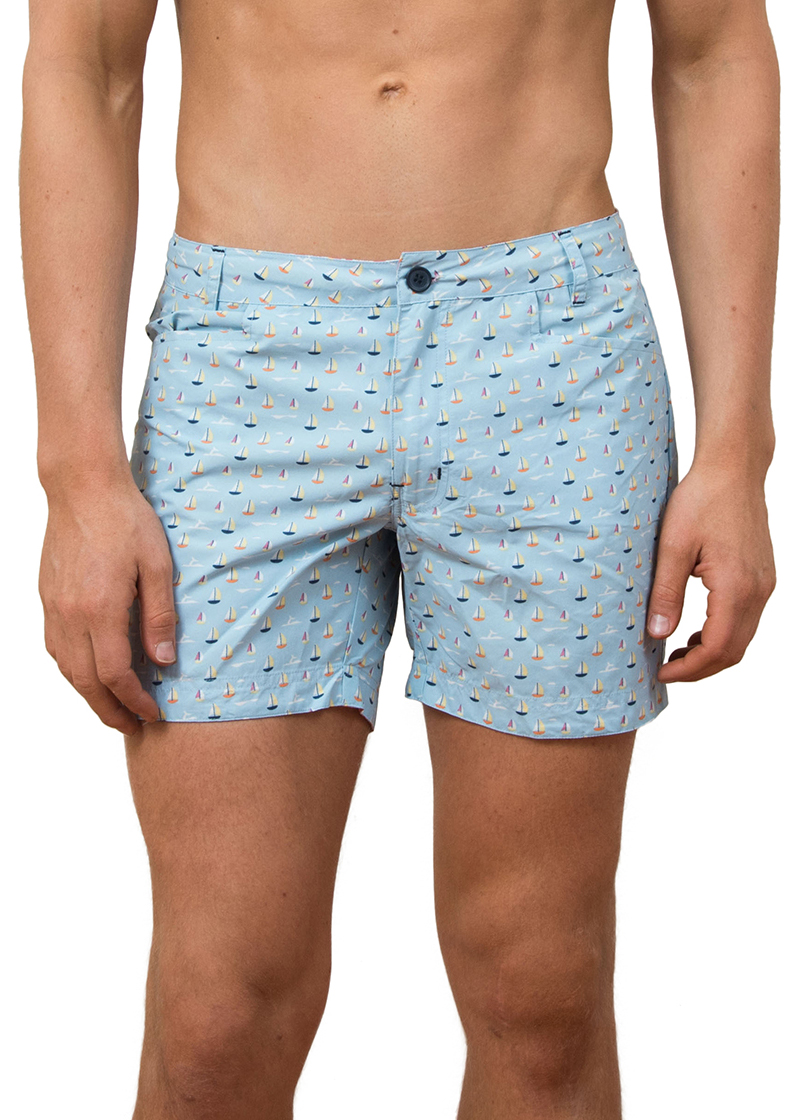 49a6cac98e Shelly Deco Short Length Board Shorts - The Rocks Push